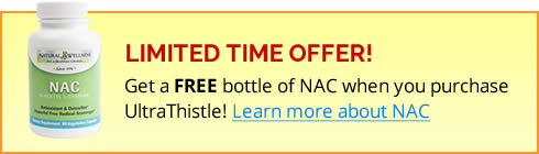 Get a FREE bottle of NAC when you purchase UltraThistle!