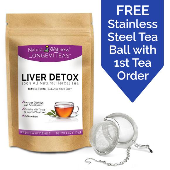 LongeviTeas<sup>&trade;</sup> - Liver Detox Tea