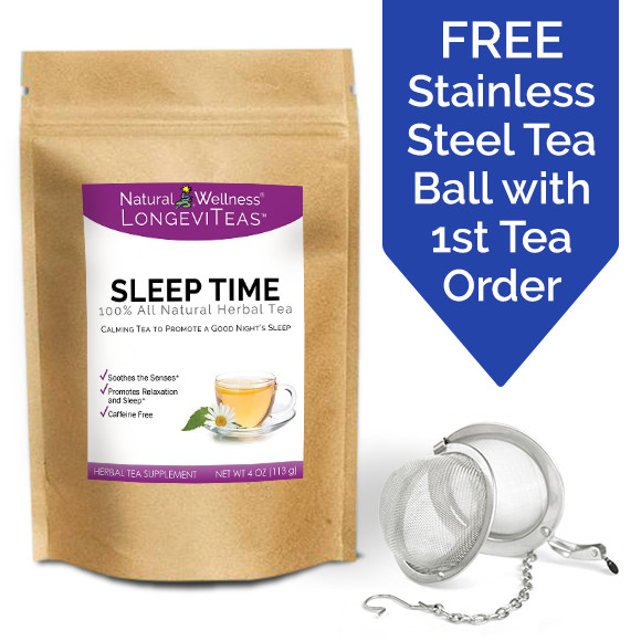 LongeviTeas<sup>&trade;</sup> - Sleep Time Tea
