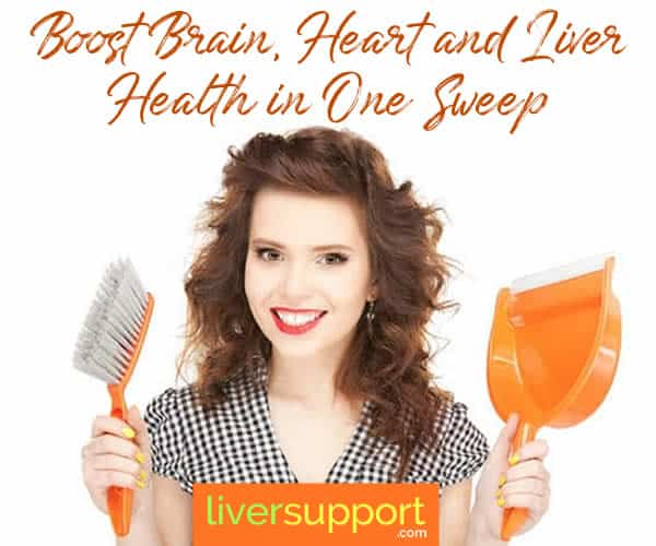 Boost Brain, Heart and Liver Health in One Sweep