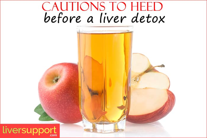 Liver detoxification programs can take on many different forms, each of  which may be associated with certain cautions. Detox diets, liver cleanses  or liver ...