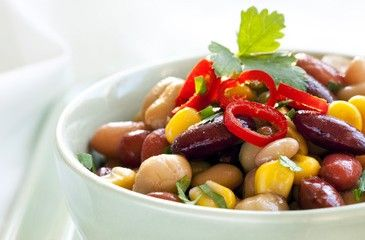 Bean and Corn Salad with Chili