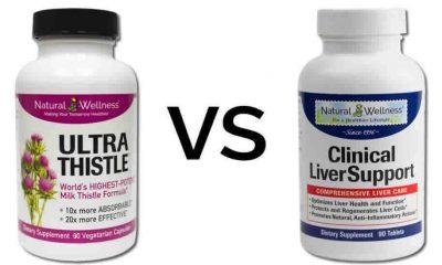 Top Liver Supplements Ultrathistle vs Clinical Liversupport