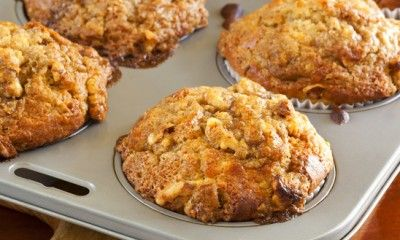 Walnut and Banana Muffins
