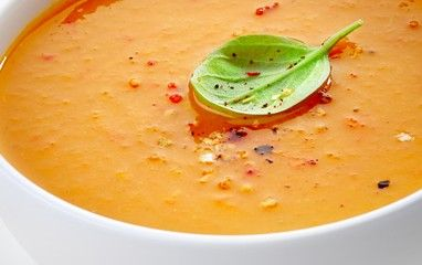 Red Pepper and Pear Soup