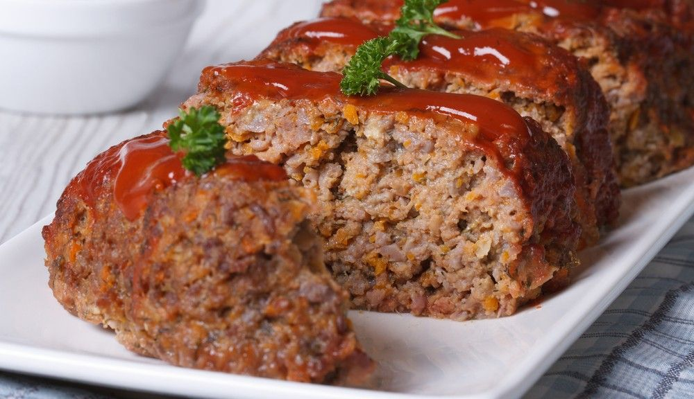 Old Fashioned Meatloaf With Milk