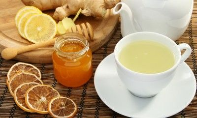 Ginger Root Tea for Liver Health