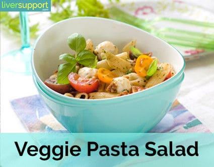 Colorful Veggie Pasta Salad