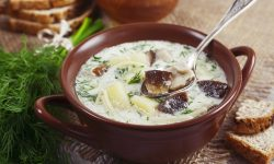 Best Ever Creamy Vegan Mushroom Soup