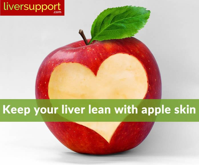 Did You Know? Apple Skin Can Keep Your Liver Lean