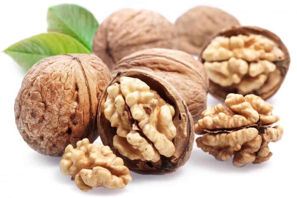 Walnuts are a healthy source of omega-3s for liver health.