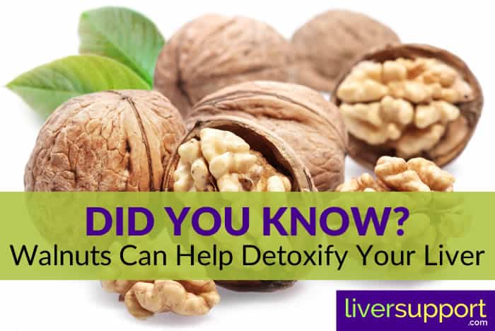 Did You Know? Walnuts Can Help Detoxify Your Liver