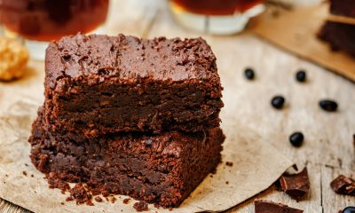 Liver Friendly Healthy Black Bean Brownies