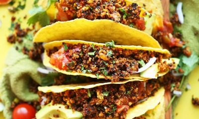 Liver Friendly Taco - Quinoa Taco Meat