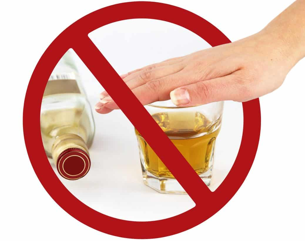 Eliminating alcohol from your diet can heal your liver.