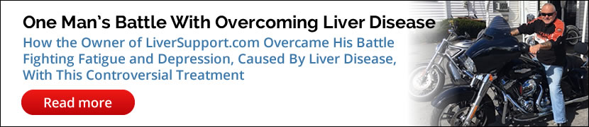 One Man's Battle With Overcoming Liver Disease
