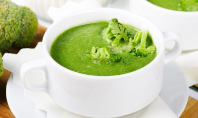 broccoli arugula detox soup