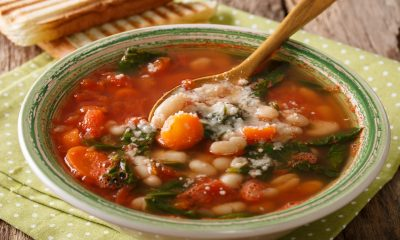 Liver-Friendly Tuscan Vegetable Soup