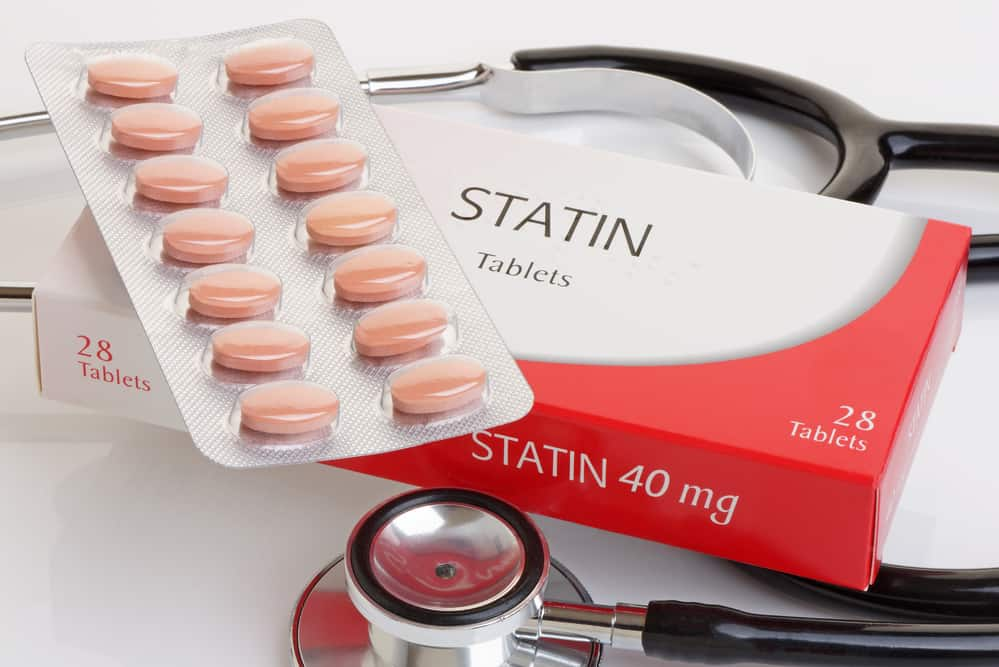 Statins can cause high liver enzymes.