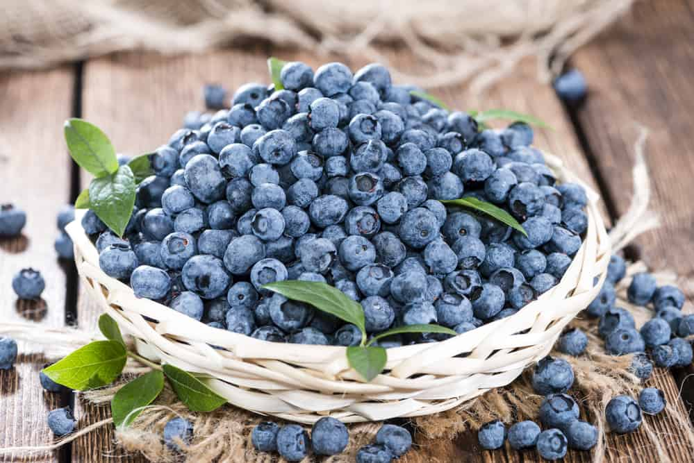 Blueberries are great to eat for liver heatlh.