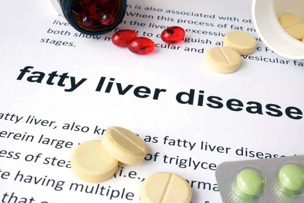 What causes fatty liver in pregnancy?