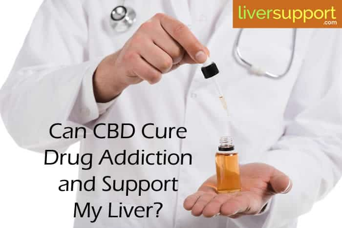 Can CBD Cure Drug Addiction and Support My Liver