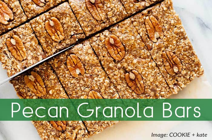Pecan Granola Bars by Cookie and Kate