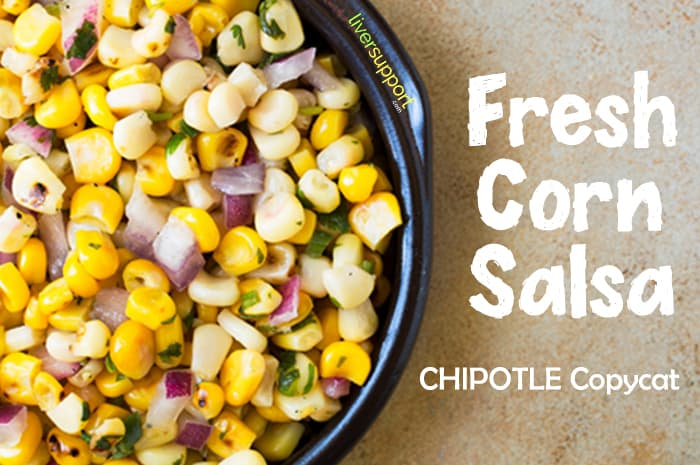 Fresh Corn Salsa Chipotle Copycat Recipe