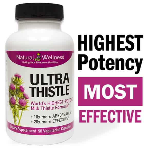 Milk thistle can help support your liver, and assist with your weight loss goals.