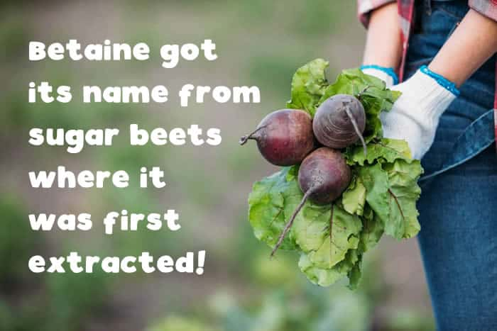 Beets contain betaine, and betaine helps fight NAFLD.