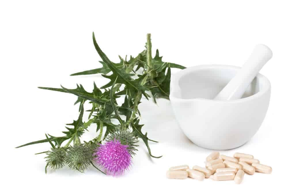 Milk thistle can help lower high liver enzymes.