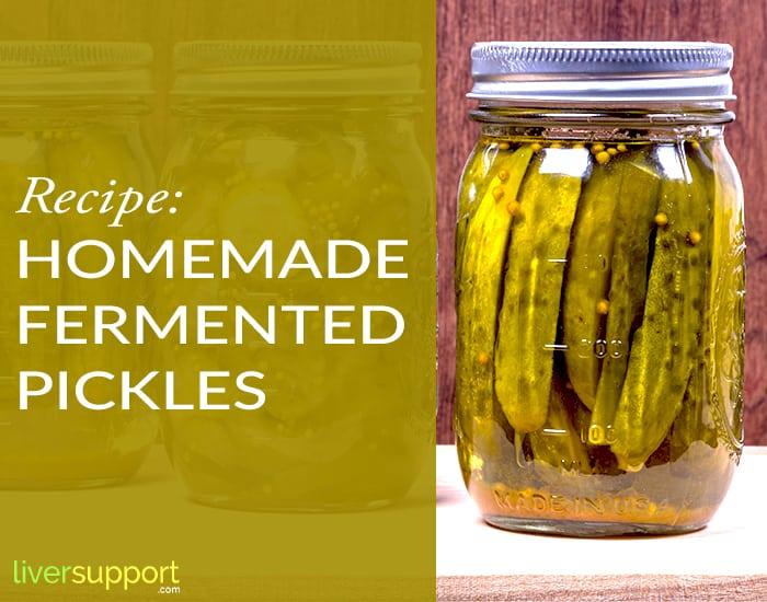 Homemade Fermented Pickles