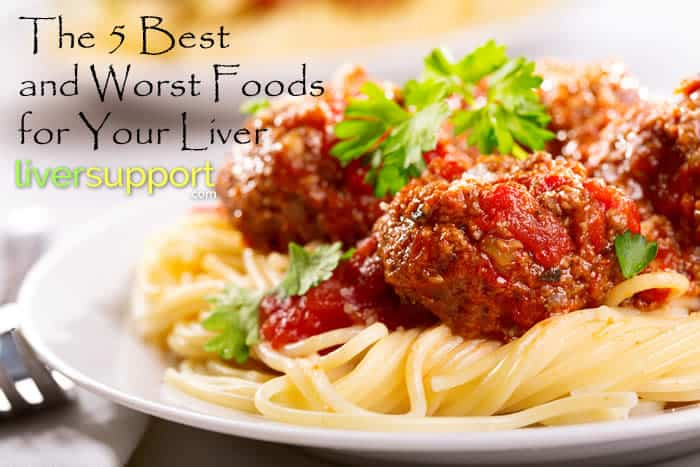 The 5 Best and Worst Foods for Your Liver