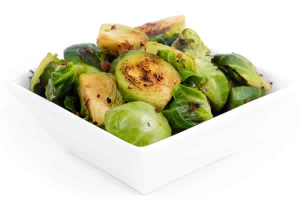 Brussels sprouts are great to eat for liver health.